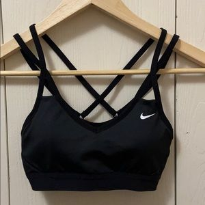 Nike Dri-fit Black Sports Bra with Cups